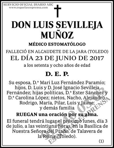 Luis Sevilleja Muñoz
